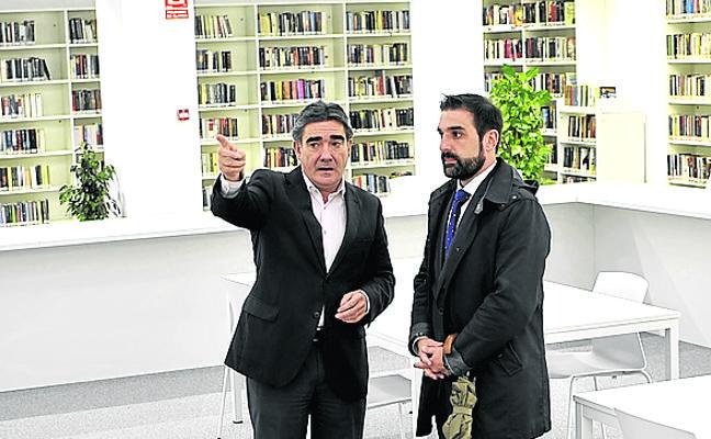La nueva biblioteca de Altzaga abrirá en diciembre
