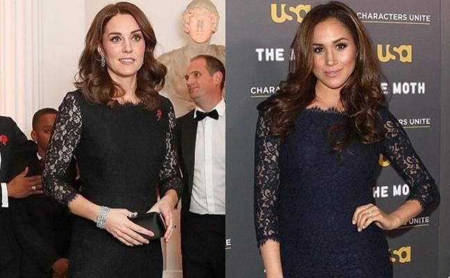 La conexión fashion de Kate Middleton y Meghan Markle
