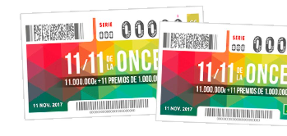 11 del 11 de la ONCE 2017: resultados del sorteo