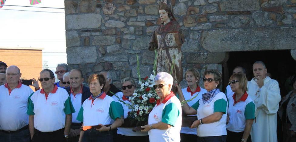 Finaga, Orozko y Zollo honran a San Martín