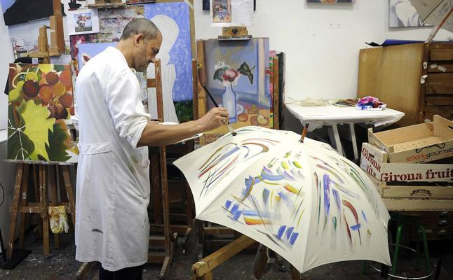 El paraguas del arte
