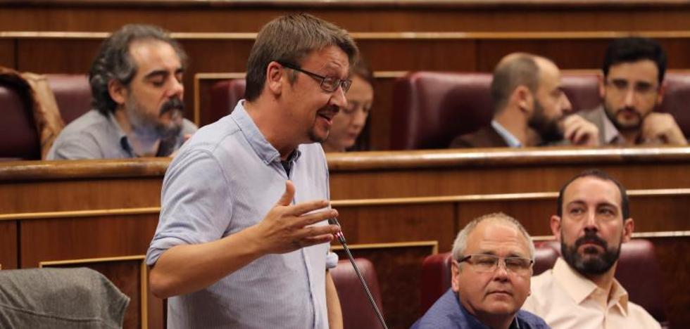 Domènech, Alamany y Albiach lideran la lista conjunta de los comunes y Podem