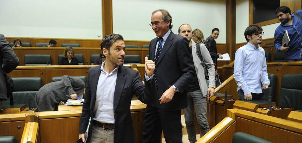 Los tres grupos de la oposición ven «difícil» apoyar los Presupuestos vascos