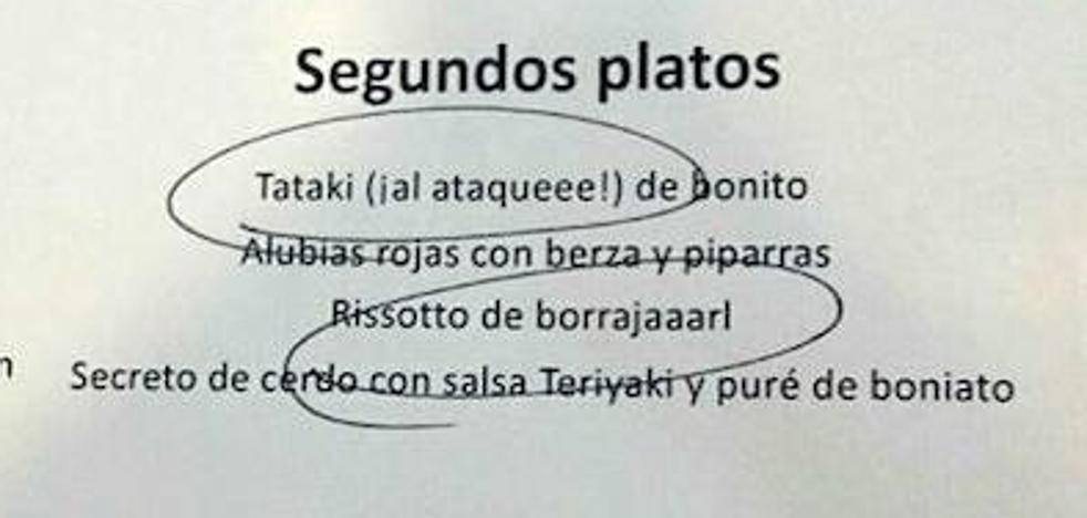 «Pastel de fistro de merluza», el simpático homenaje de un restaurante navarro a Chiquito