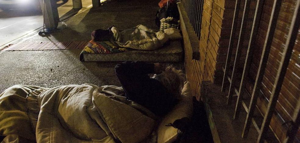 El PP pide la apertura de los centros invernales de Vitoria para personas sin hogar