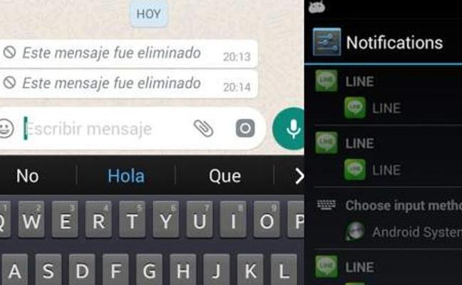 El truco para ver un mensaje de Whatsapp eliminado por la otra persona