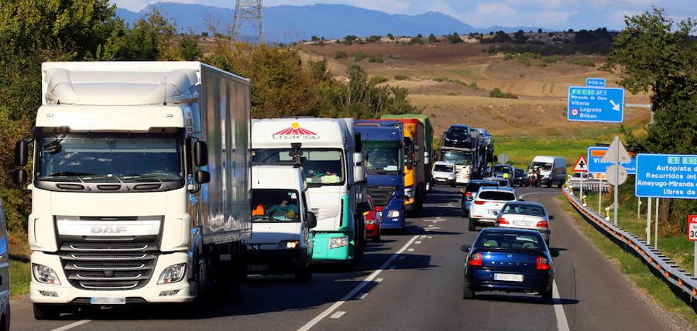 Acuerdan bonificar hasta el 75% el desvío de vehículos pesados de la N-I a la AP-1 entre Miranda y Burgos