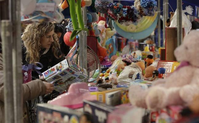Los juguetes tendrán una segunda oportunidad en la Azoka Txikia de Vitoria