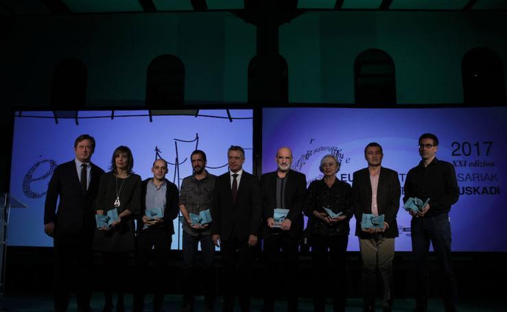 Los Premios Euskadi de Literatura, en imágenes