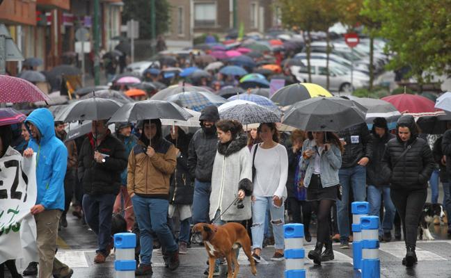 «Más de mil personas» contra el parking de Ibarbengoa