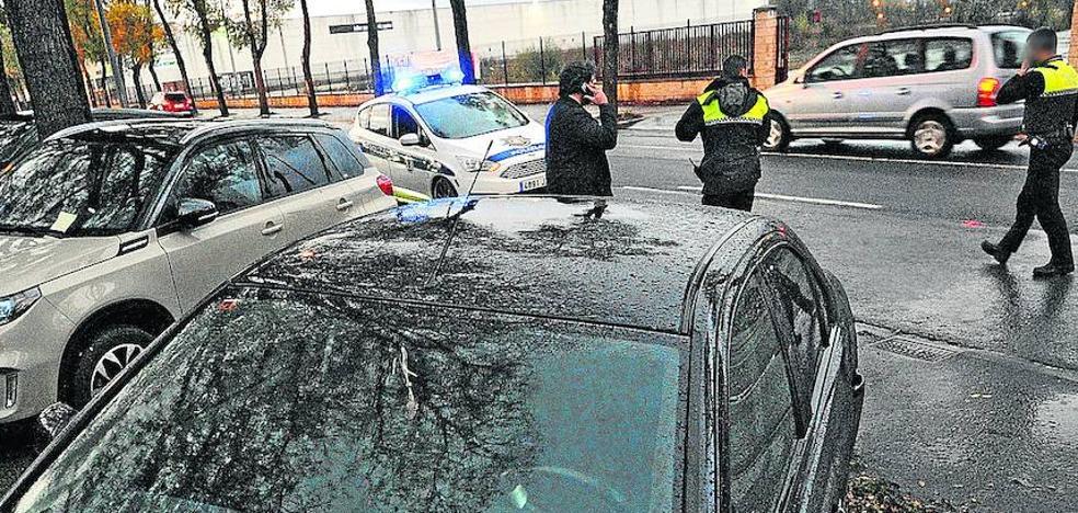 Los policías locales de Vitoria prolongan por lo menos hasta el miércoles su huelga de celo