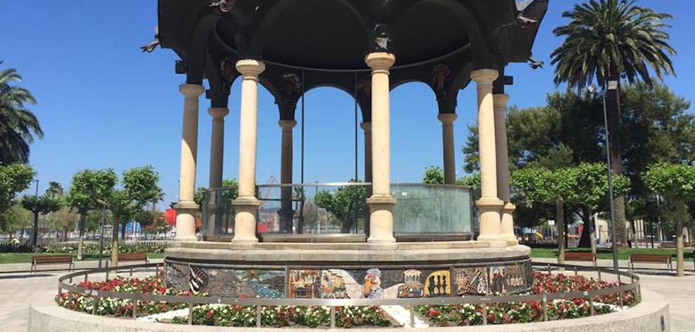Una batería de actos para celebrar el centenario del kiosco de Santurtzi