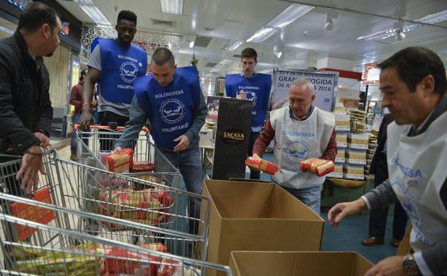 El Banco de Alimentos de Bizkaia llenará la despensa de 30.850 familias estas navidades