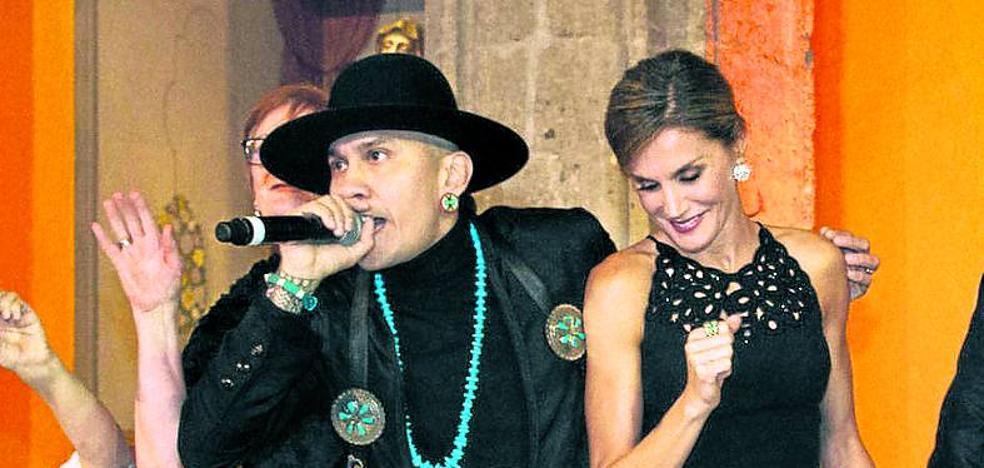 The Black Eyed Peas pone a Letizia a bailar en México