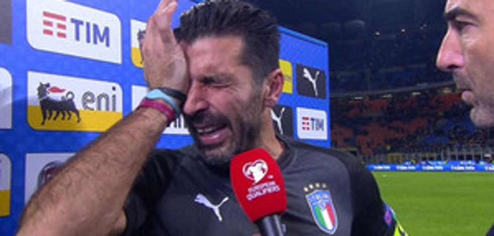 El maravilloso gesto de Buffon que dará la vuelta al mundo