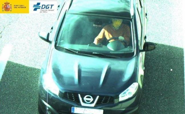 La cámara de Tráfico para controlar el uso del cinturón de seguridad comienza a multar en Allendelagua