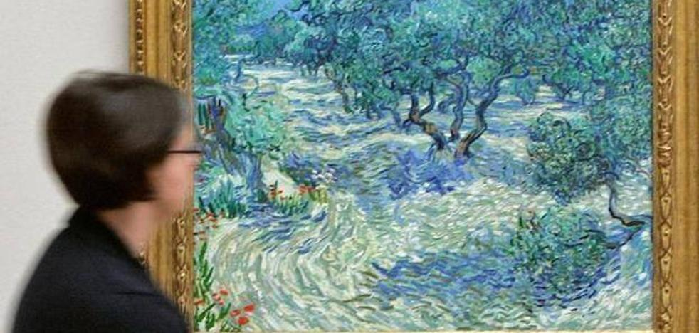 Descubren un saltamontes que ha permanecido incrustado en un cuadro de Van Gogh durante 128 años