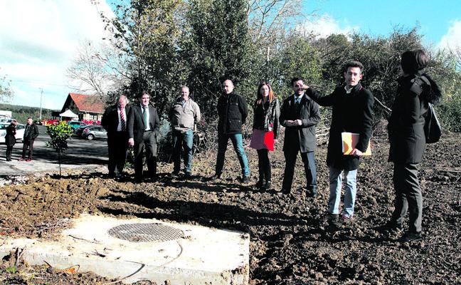 Erandio avanza en la reducción de pozos sépticos en la zona rural