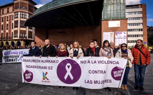 Barakaldo condena la agresión sexual denunciada el domingo