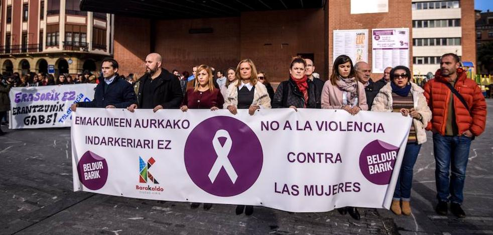 Barakaldo condena la agresión sexual denunciada el domingo