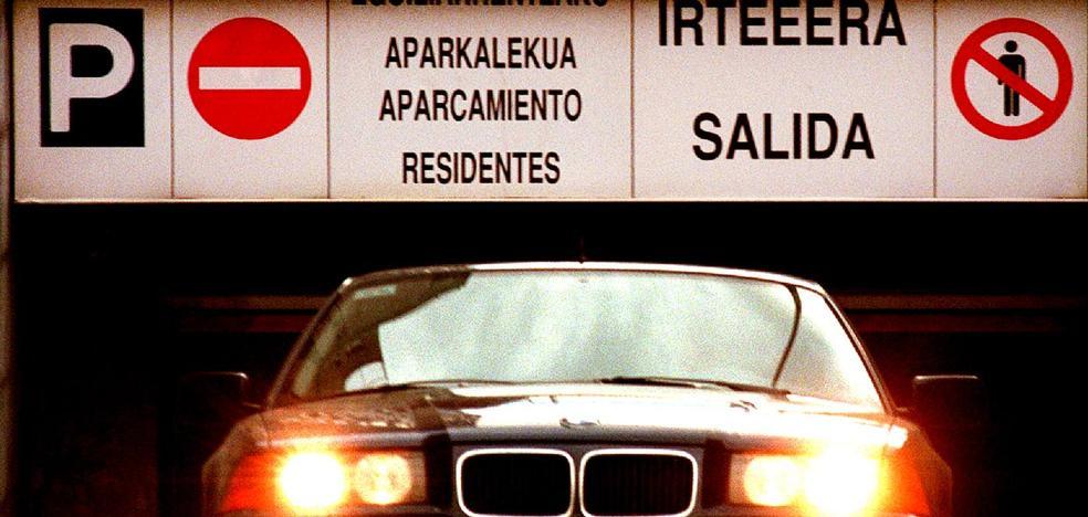 Lo que cuestan los parkings públicos para residentes en Bilbao y las plazas que hay libres
