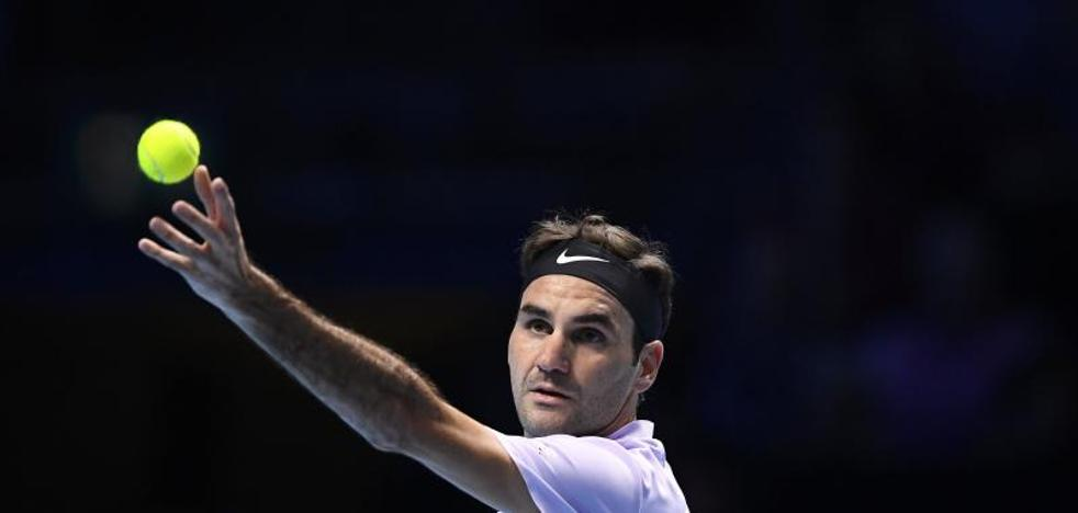 Federer se calma para llegar a semifinales invicto