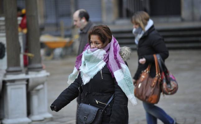 Bizkaia empieza a pasar frío con mínimas de -2,6 grados