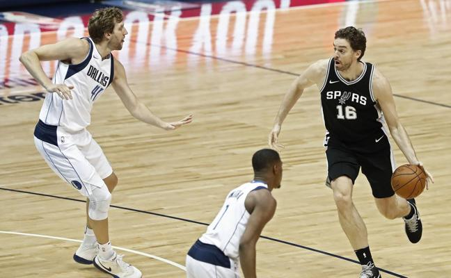 Pau Gasol e Ibaka ayudan a Spurs y Raptors a conseguir sendos triunfos