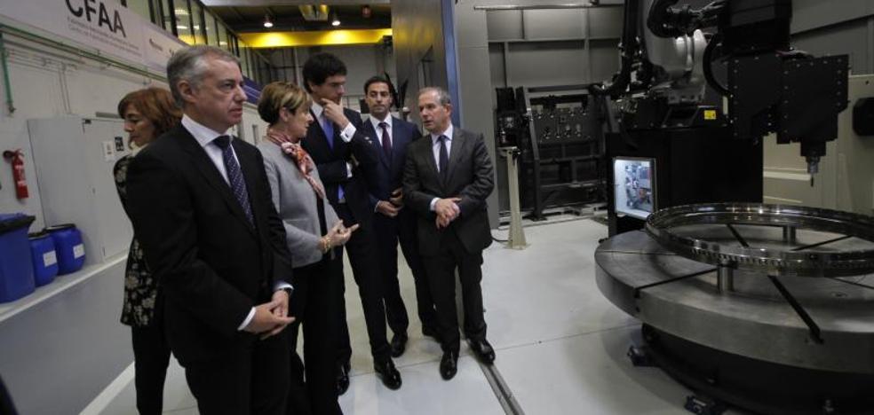 Urkullu: «Hoy damos un paso más hacia la cuarta revolución industrial»