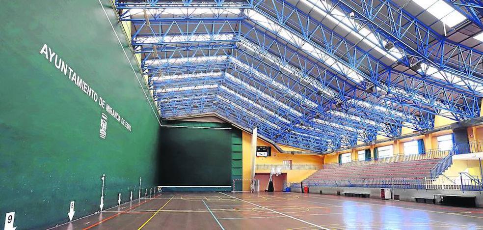 La renovación de la cubierta del frontón costará 59.289 euros