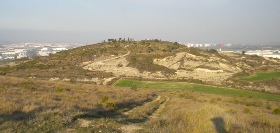 La colina alavesa donde murió William Felton