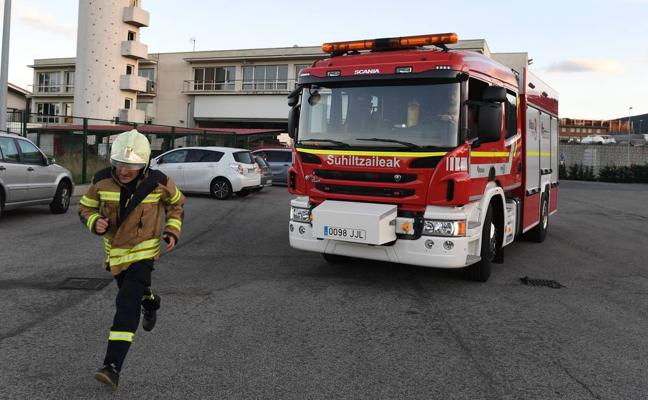 Bizkaia crea un centro de emergencias en Urioste para hacer frente a las catástrofes