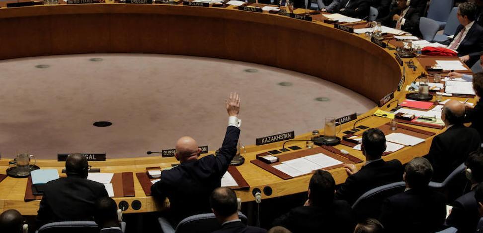 Rusia veta prolongar la investigación sobre armas químicas en Siria