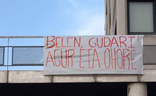 Aparecen pintadas y carteles en la UPV para homenajear a la etarra Belén González
