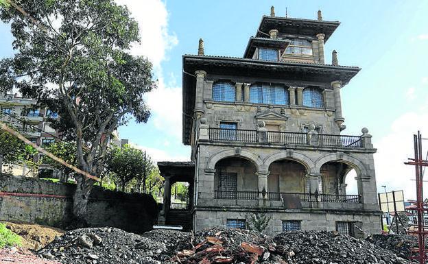 Comienza la transformaci n de la casa de la alcaldesa en - Casas de lujo en bilbao ...