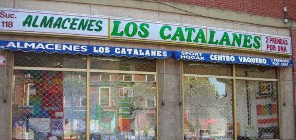 El desplome de ventas obliga a una tienda de Valladolid llamada 'Los catalanes' a cambiar de nombre