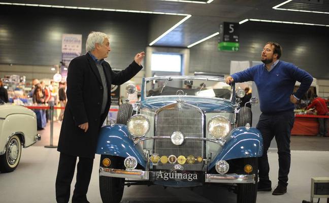 El futuro museo de Mercedes se deja ver en Retro Clásica