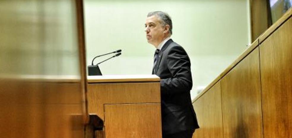 Urkullu hace un guiño al PP vasco y dice que «se implicará» en la negociación de los Presupuestos