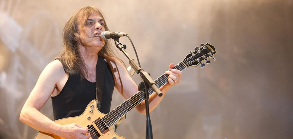 Fallece Malcolm Young, que dio su último concierto con AC/DC en San Mamés