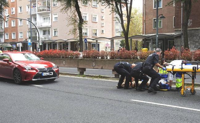 108 peatones han sido atropellados en las calles de Bilbao entre enero y agosto