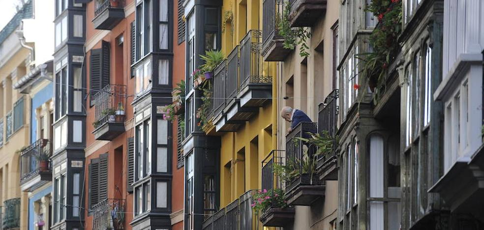 Euskadi tiene el parque de pisos más viejo del sur de Europa