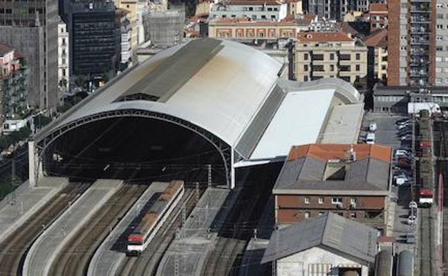 La estación de Abando conservará su enorme cubierta con la llegada del TAV