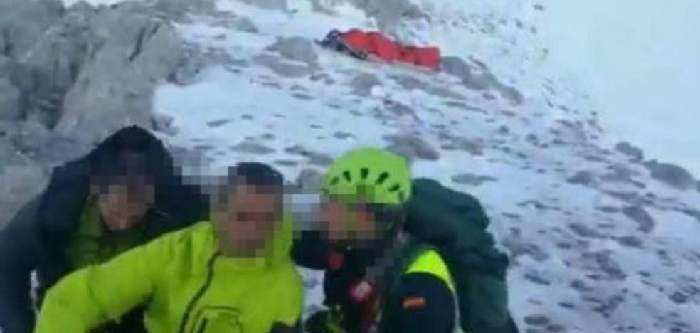 Fallece un montañero de Sestao en los Picos de Europa