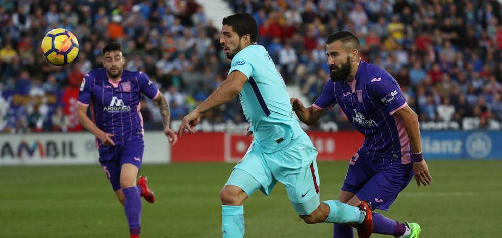 Luis Suárez: «Ya lo dejé bastante claro, no tengo ansiedad de gol»