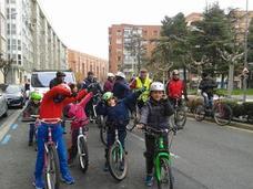 La marcha en bici cerró el Memorial Rufino