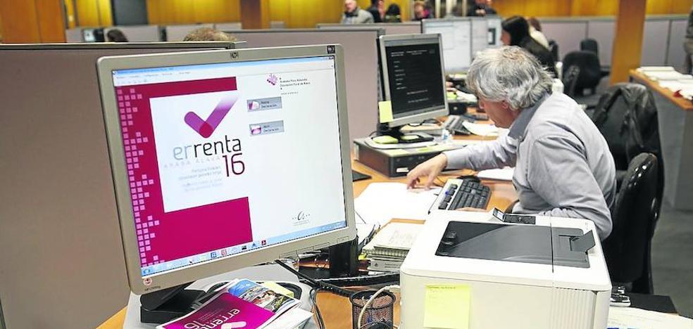 La Hacienda alavesa actualiza el IRPF para que el contribuyente pague menos