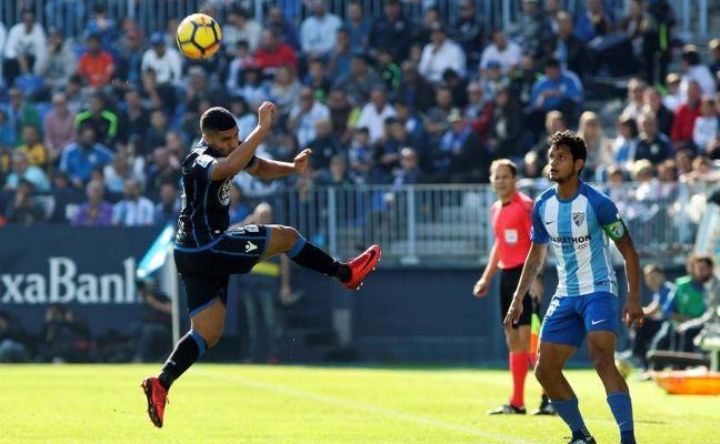 Málaga-Deportivo, en directo