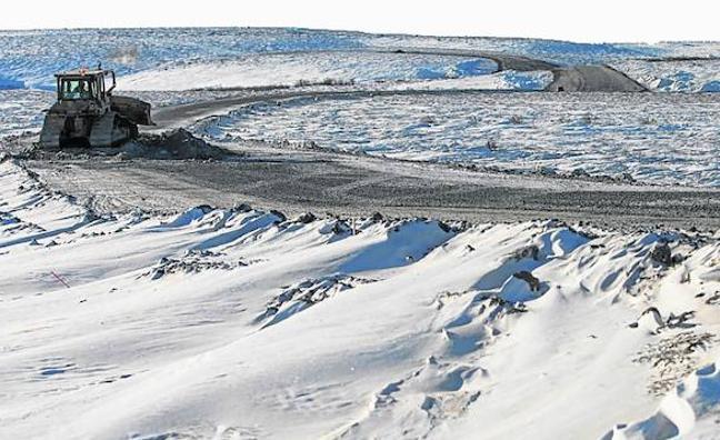 Al volante hasta la puerta del Polo Norte