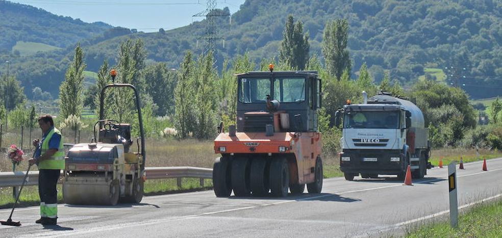 La Diputación de Álava invertirá 12,6 millones de euros en la red foral de carreteras