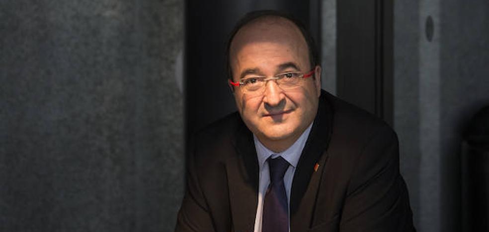 Miquel Iceta: «Aceptaré los apoyos que vengan para sacar a Cataluña del atolladero»